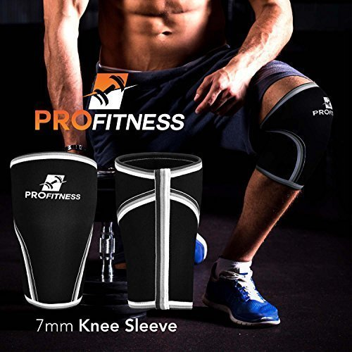 ProFitness-Knee-Sleeve-Squat-Support-and-Compression-for-Powerlifting-0-3