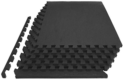 Prosource-Fit-Extra-Thick-Puzzle-Exercise-Mat-34-1-EVA-Foam-Interlocking-Tiles-for-Protective-Cushioned-Workout-Flooring-for-Home-and-Gym-Equipment-0