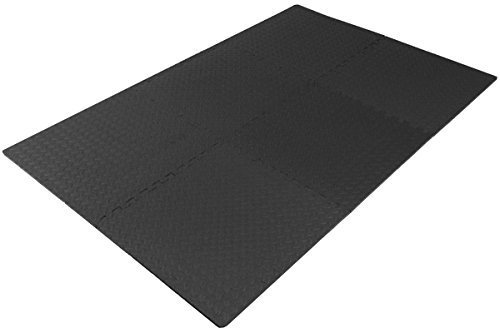 Prosource-Fit-Puzzle-Exercise-Mat-EVA-Foam-Interlocking-Tiles-Protective-Flooring-for-Gym-Equipment-and-Cushion-for-Workouts-0-0