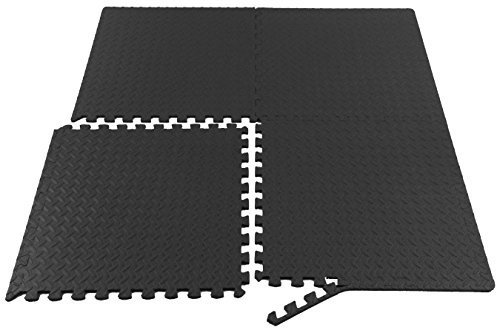 Prosource-Fit-Puzzle-Exercise-Mat-EVA-Foam-Interlocking-Tiles-Protective-Flooring-for-Gym-Equipment-and-Cushion-for-Workouts-0-1