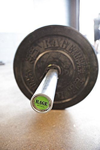 RAGE-Fitness-Olympic-Training-Barbell-15-lb-For-Weightlifting-and-Power-Lifting-0-3