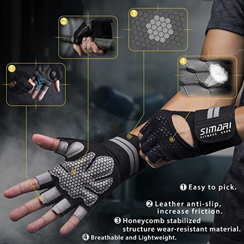 SIMARI-Workout-Gloves-for-Women-MenTraining-Gloves-with-Wrist-Support-for-Fitness-Exercise-Weight-Lifting-Gym-CrossfitMade-of-Microfiber-and-Lycra-SMRG902-0-0