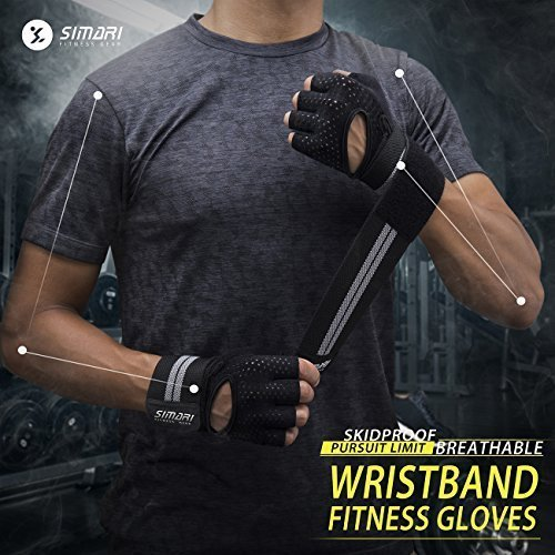 SIMARI-Workout-Gloves-for-Women-MenTraining-Gloves-with-Wrist-Support-for-Fitness-Exercise-Weight-Lifting-Gym-CrossfitMade-of-Microfiber-and-Lycra-SMRG902-0-1