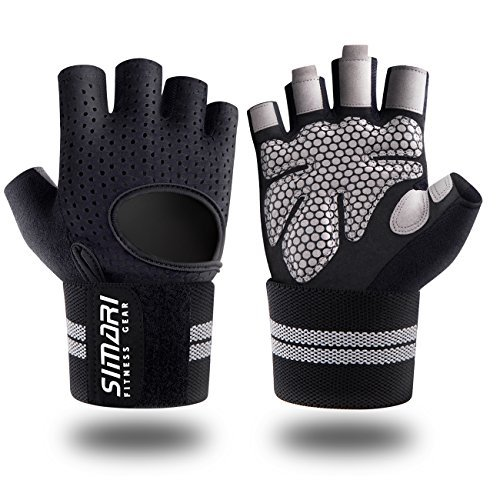 SIMARI-Workout-Gloves-for-Women-MenTraining-Gloves-with-Wrist-Support-for-Fitness-Exercise-Weight-Lifting-Gym-CrossfitMade-of-Microfiber-and-Lycra-SMRG902-0