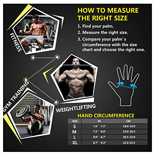 Updated-2019-Version-Professional-Ventilated-Weight-Lifting-Gym-Workout-Gloves-with-Wrist-Wrap-Support-for-Men-Women-Full-Palm-Protection-for-Weightlifting-Training-Fitness-Hanging-Pull-ups-0-4