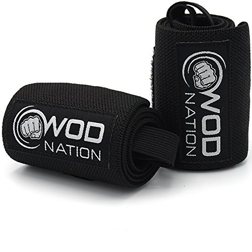 WOD-Nation-Wrist-Wraps-Wrist-Support-Straps-12-or-18-Fits-Both-Men-Women-Strength-Training-Weightlifting-Powerlifting-Lift-Heavier-Weight-Free-Carrying-Bag-Included-0-0
