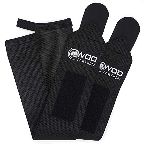 WOD-Nation-Wrist-Wraps-Wrist-Support-Straps-12-or-18-Fits-Both-Men-Women-Strength-Training-Weightlifting-Powerlifting-Lift-Heavier-Weight-Free-Carrying-Bag-Included-0-1