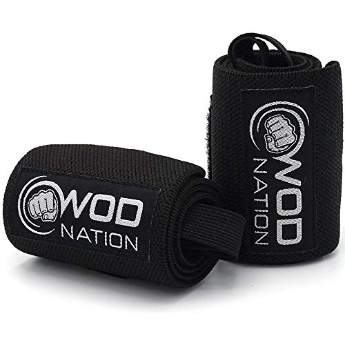 WOD-Nation-Wrist-Wraps-Wrist-Support-Straps-12-or-18-Fits-Both-Men-Women-Strength-Training-Weightlifting-Powerlifting-Lift-Heavier-Weight-Free-Carrying-Bag-Included-0-2